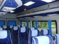 Miete von Kleinbussen