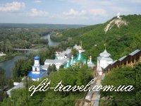 Донецк — Святогорье — «Хомутовская степь» — «Каменные могилы», дети
