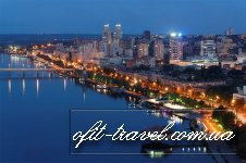 Dnipro city travel