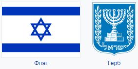 Герб и Флаг Израиля
