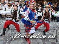 День Независимости в старинном городе Львове